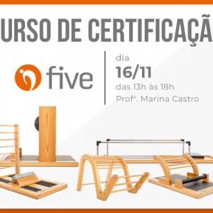 Curso de certificação Five - 16/11