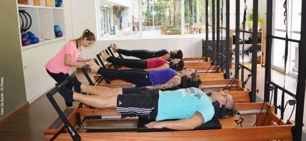 Pilates no condomínio: divulgação para os moradores