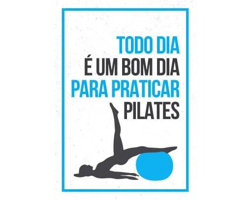 Todo dia é um bom dia para praticar pilates